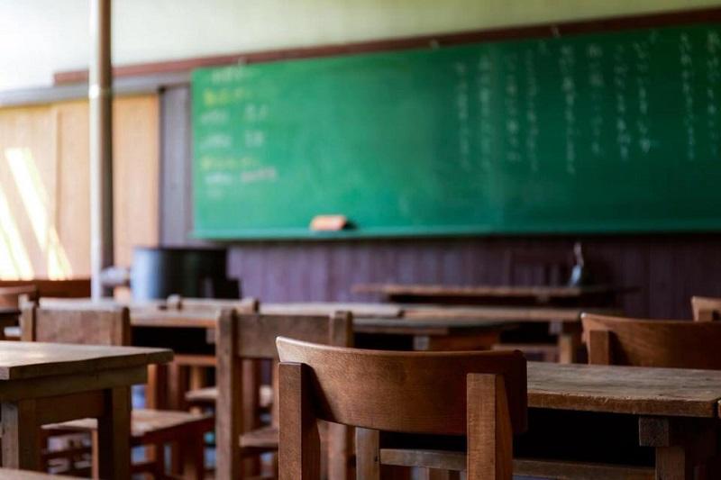 学校の教室の写真