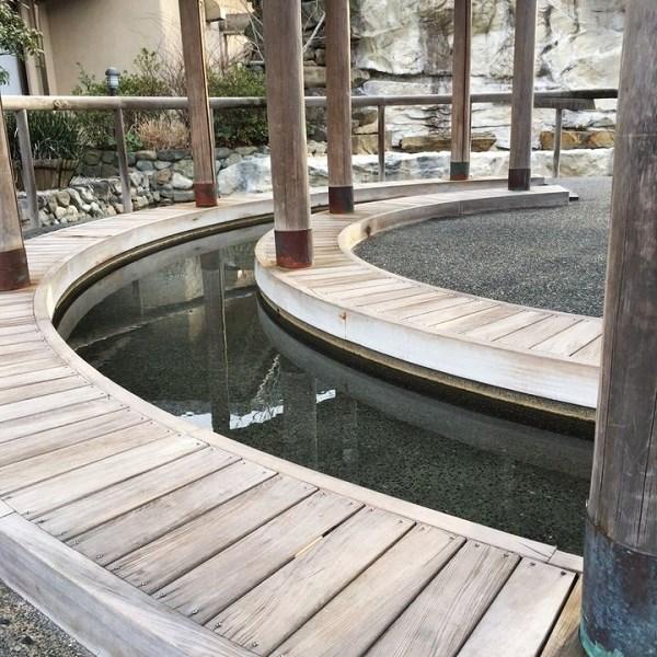 吉川温泉よかたんの足湯の写真