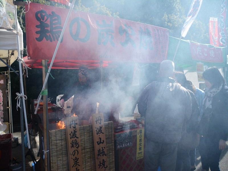 兵庫五国祭り 丹波鶏