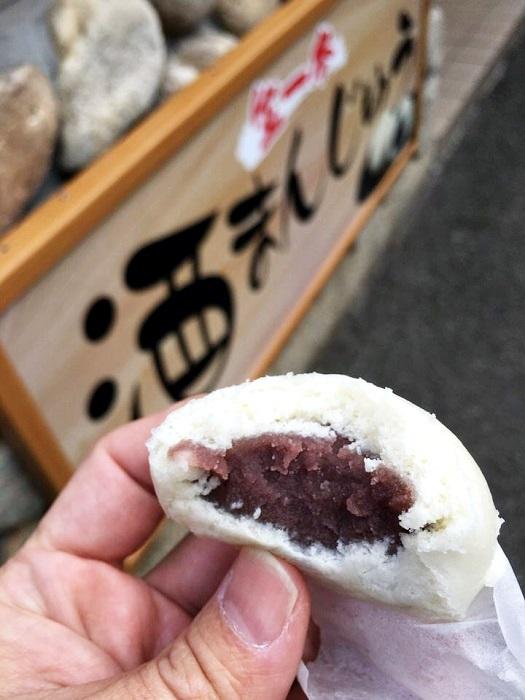 和菓子工房ありまの酒まんじゅう 餡