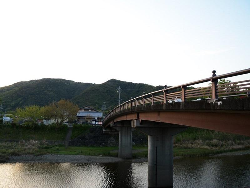 赤福から見える橋