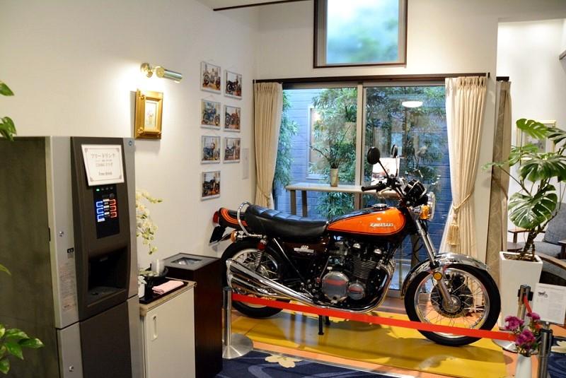 ホテルブリスヴィラ波佐見 館内バイク