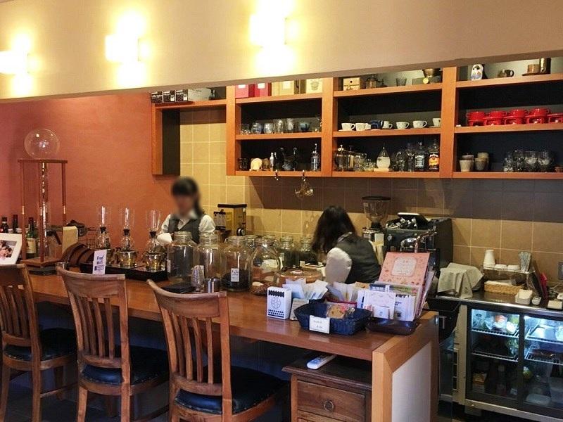 kobacoffee 店内
