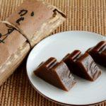 岐阜県の郷土菓子「からすみ」の黒糖感もっちり感がたまらない
