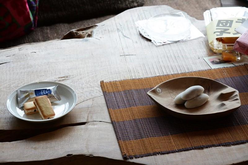 走り井餅とミルクヨーグルトパフェクッキー