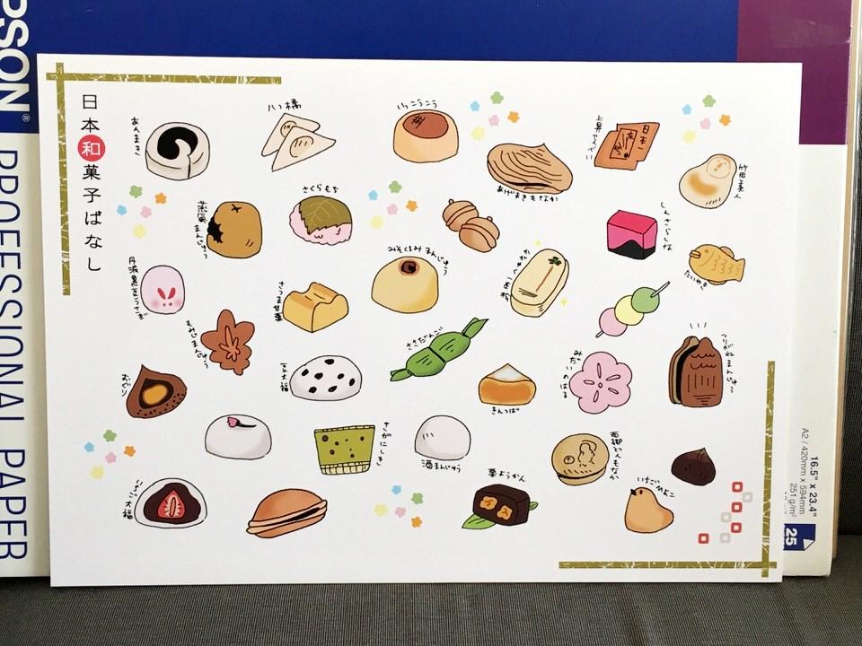 和菓子イラスト実物