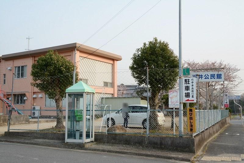 竹中半兵衛駐車場
