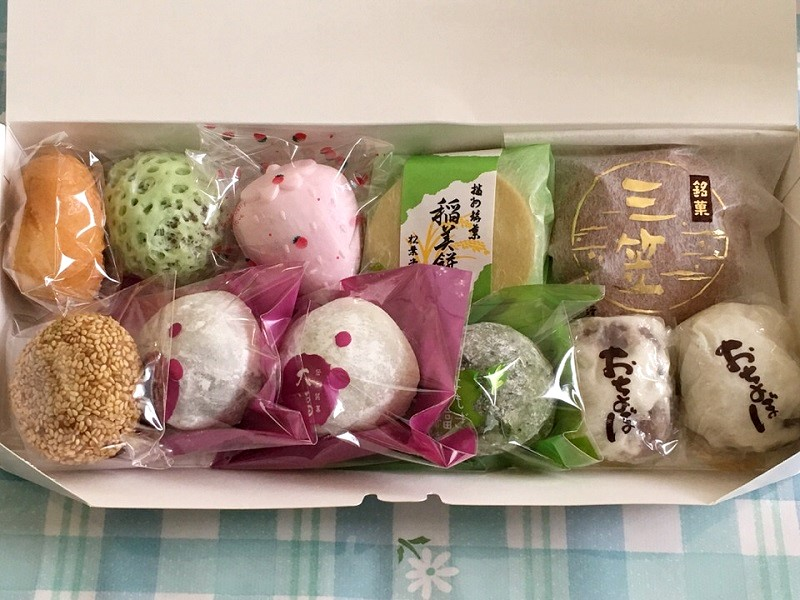 松葉堂の和菓子詰め合わせ