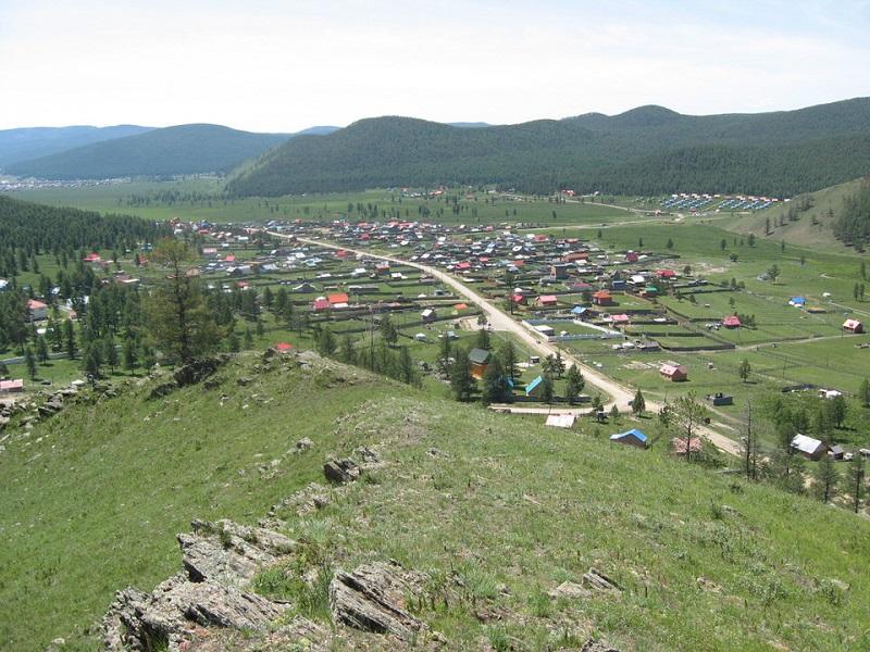 モンゴルの別荘
