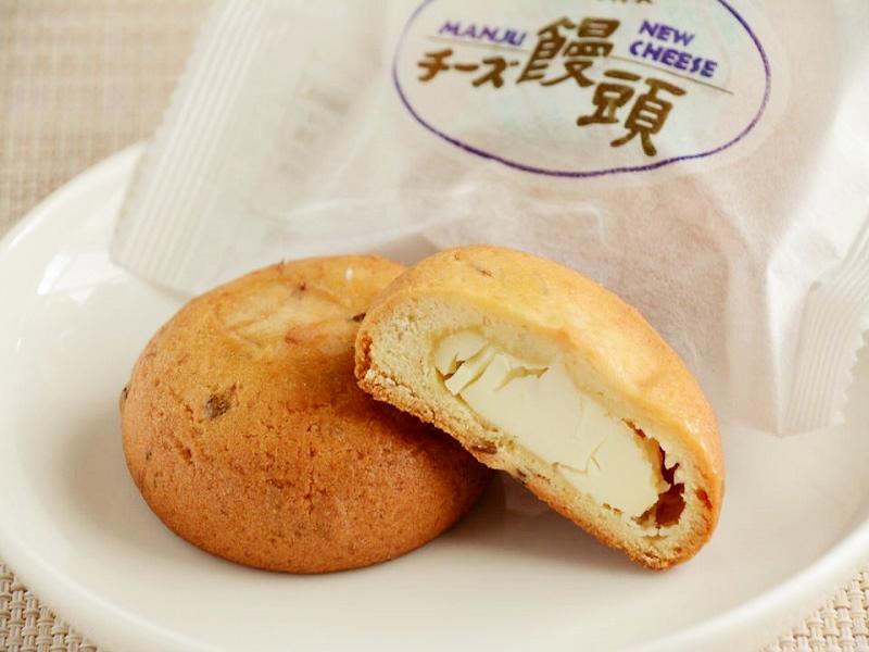 お菓子の日高のチーズ饅頭