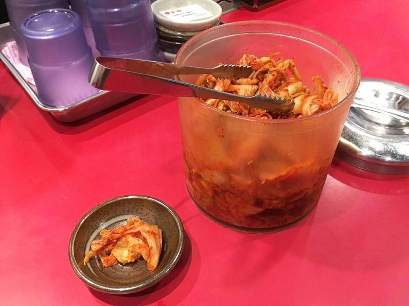 焼肉丼十番 キムチ