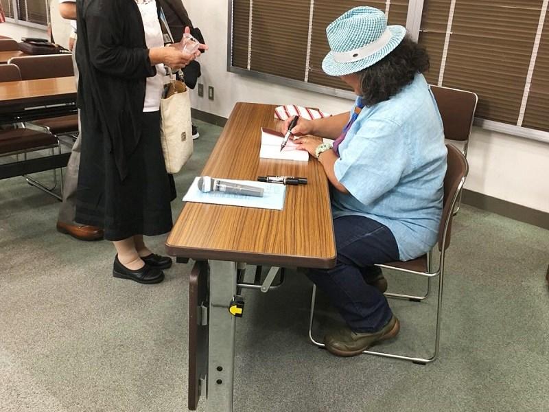 中井精也さんのサイン会
