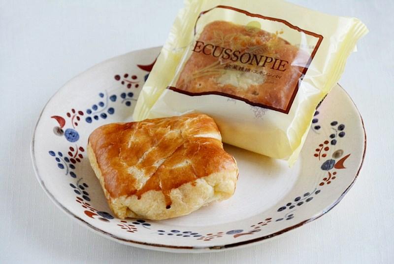 お皿に盛ったエキソンパイ