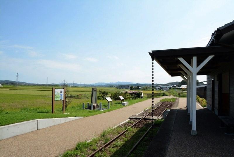 石野駅跡から見える風景