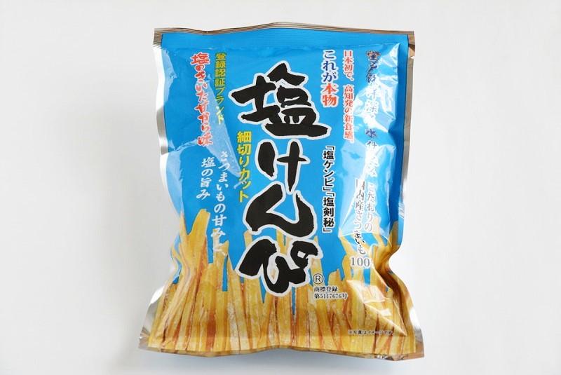 南国製菓 塩けんぴの外装