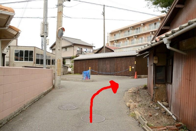 竹乃湯温泉までの道順2