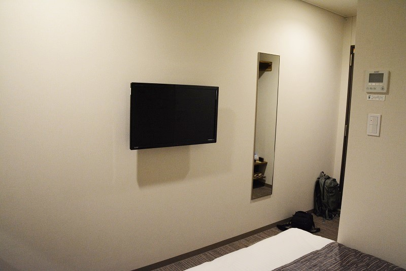 アーバンホテル三木の部屋のテレビ