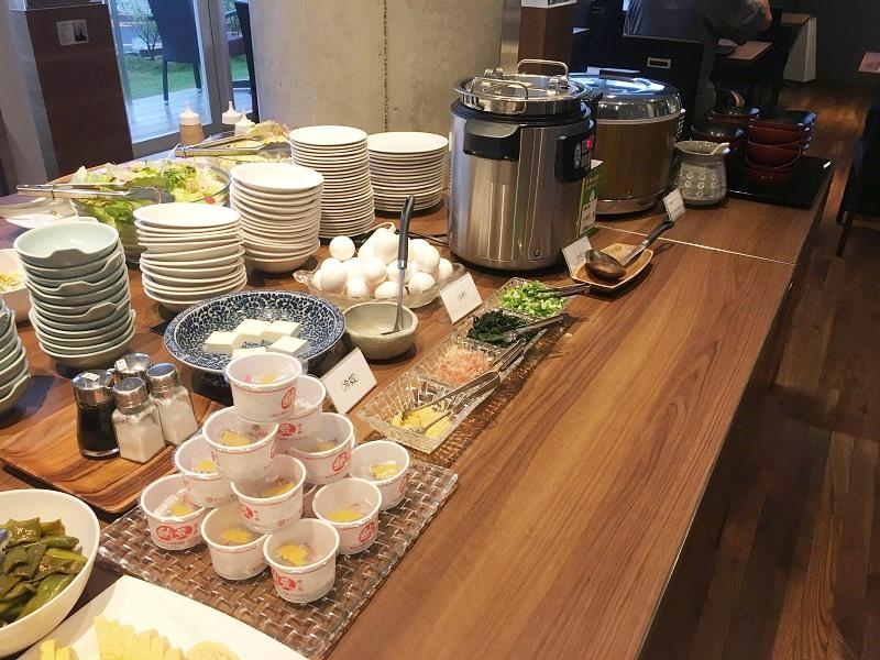 アーバンホテル三木の朝食