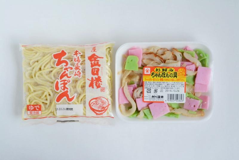 ちゃんぽん麺と具