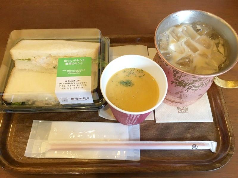 上島珈琲のランチ