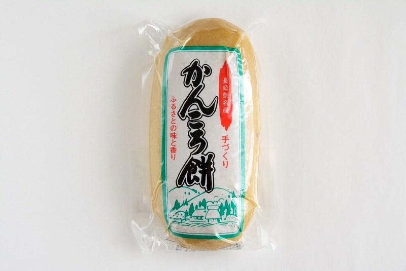 朝川商店のかんころ餅の外装