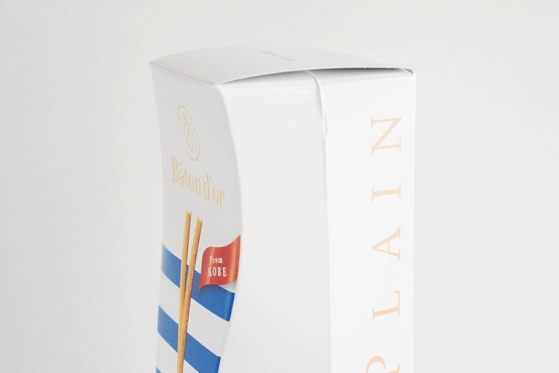 バトンドール 神戸プレーンの箱のフォルム
