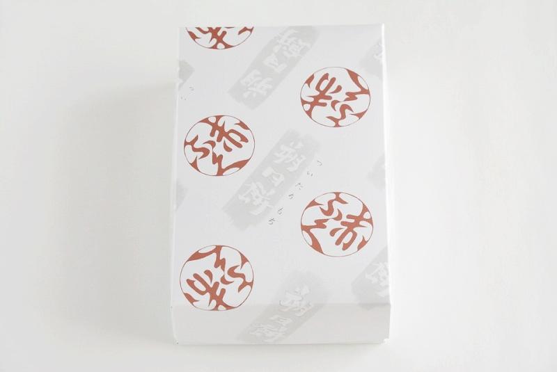 朔日餅(11月)ゑびす餅の外箱