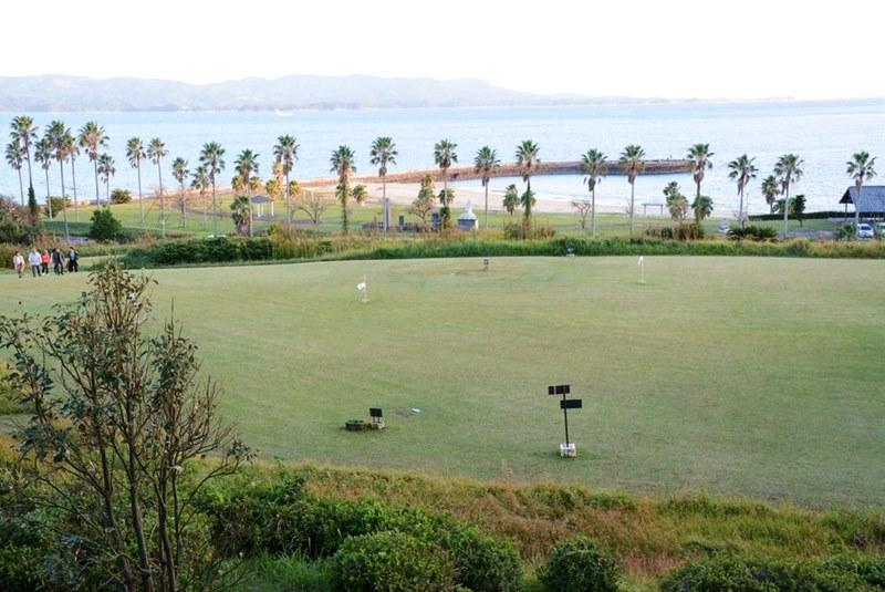 湯快リゾートホテル蘭風のグランドゴルフ場の写真