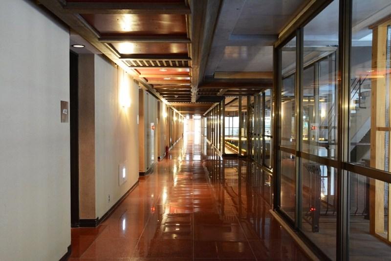 湯快リゾートホテル蘭風の廊下の写真