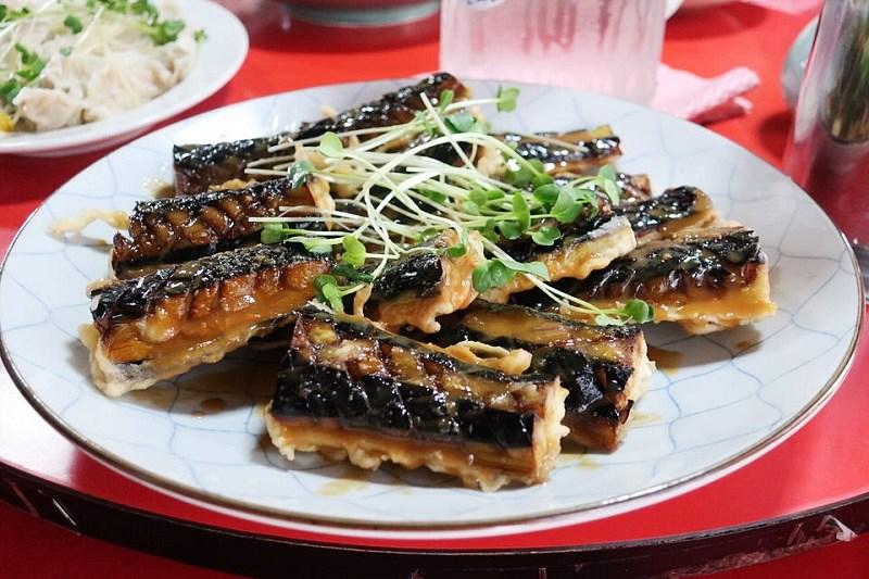 上海飯店(有田町)のナスのごまだれ
