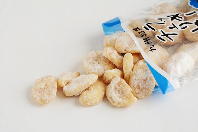 袋から出したラッキーチェリー豆の写真