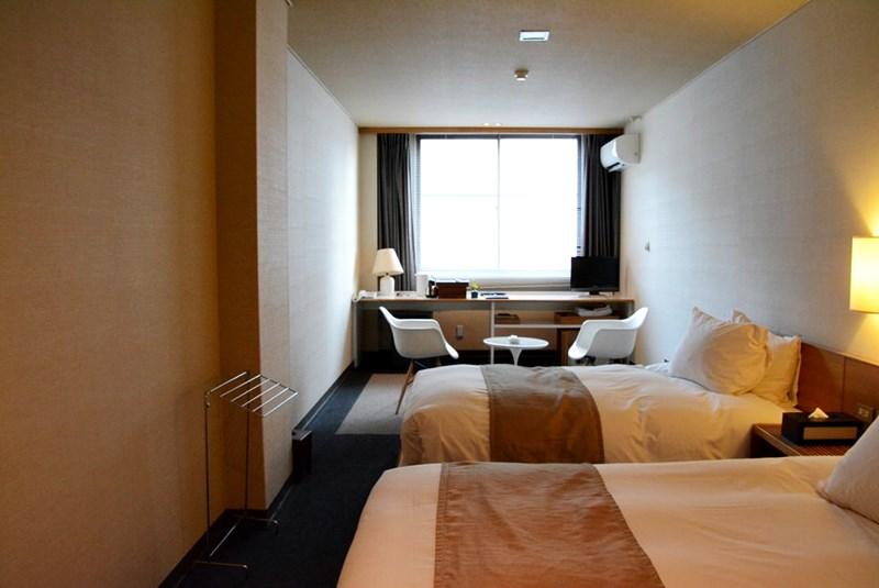 小浜「旅館ゆのか」のツインルームの写真