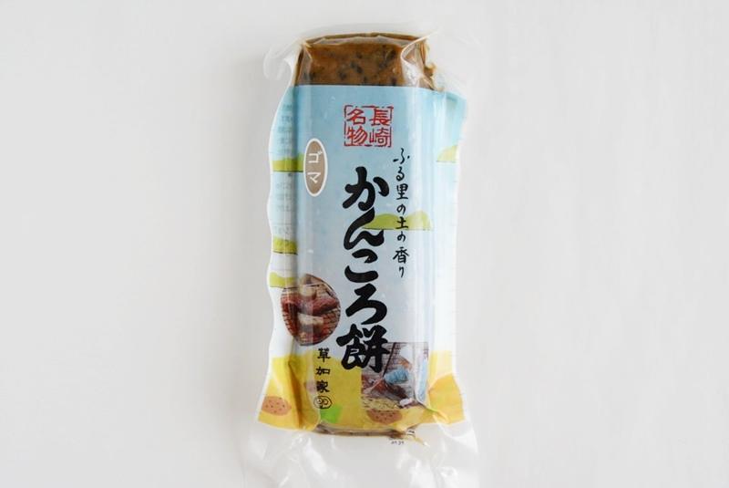 草加家のかんころ餅(ゴマ)の外装写真