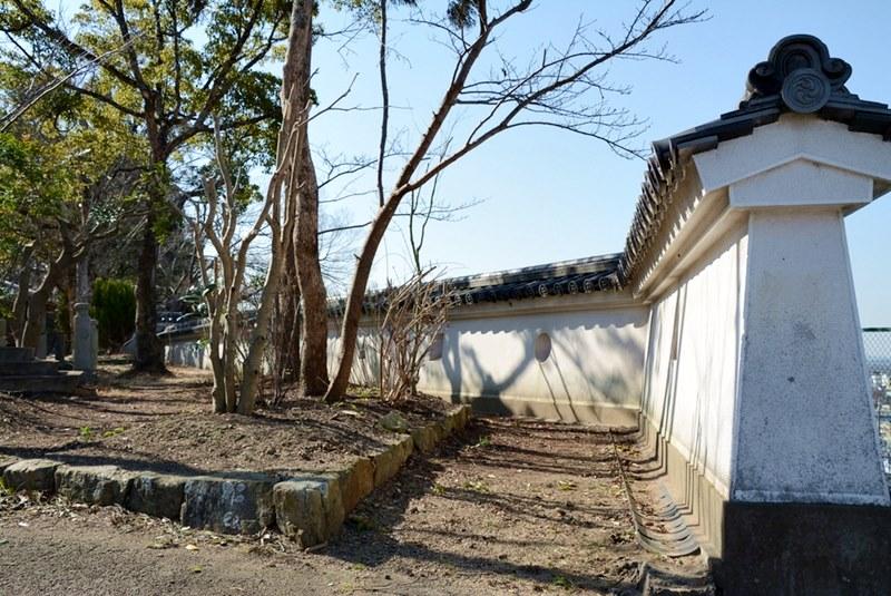 三木城跡の外郭
