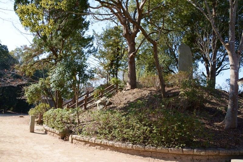 三木城の本丸跡