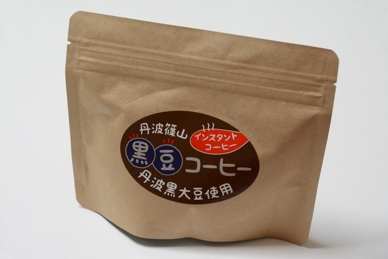 丹波篠山の黒豆コーヒーの外装写真