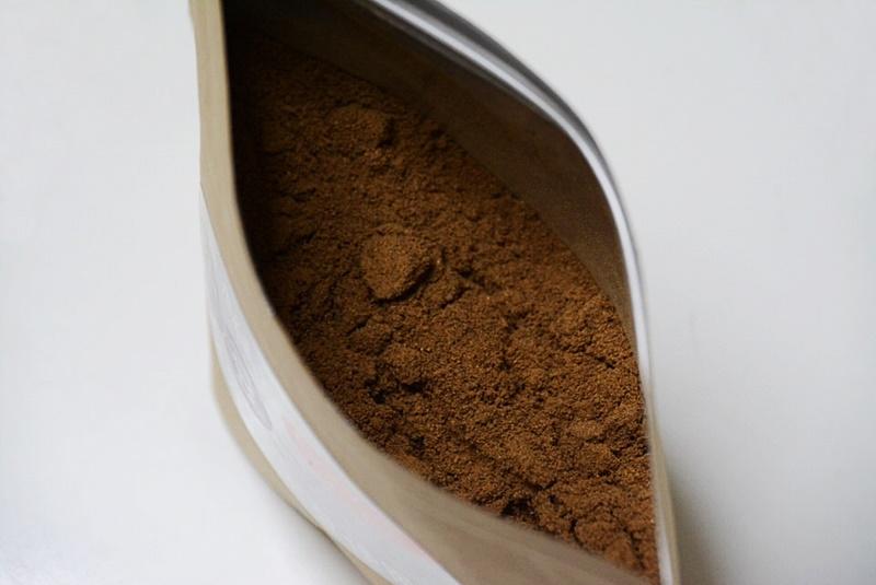 丹波篠山の黒豆コーヒーの粉の写真