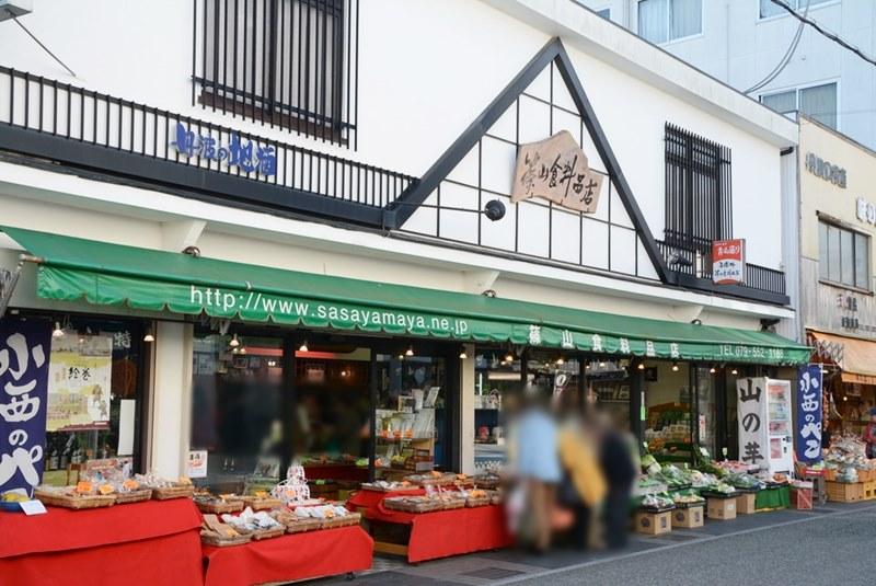 篠山食料品店の外観写真