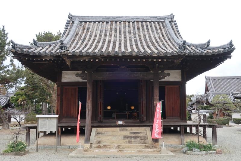 鶴林寺の常行堂