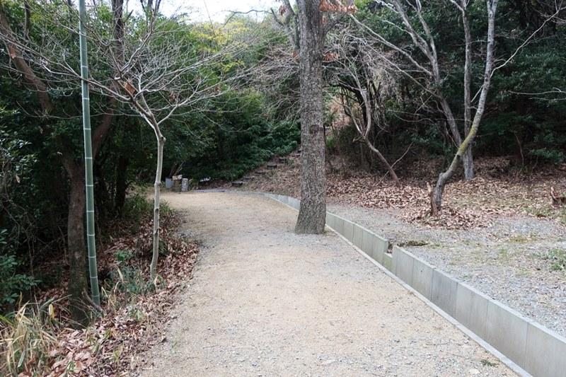 大歳神社から黒岩山入口までの道