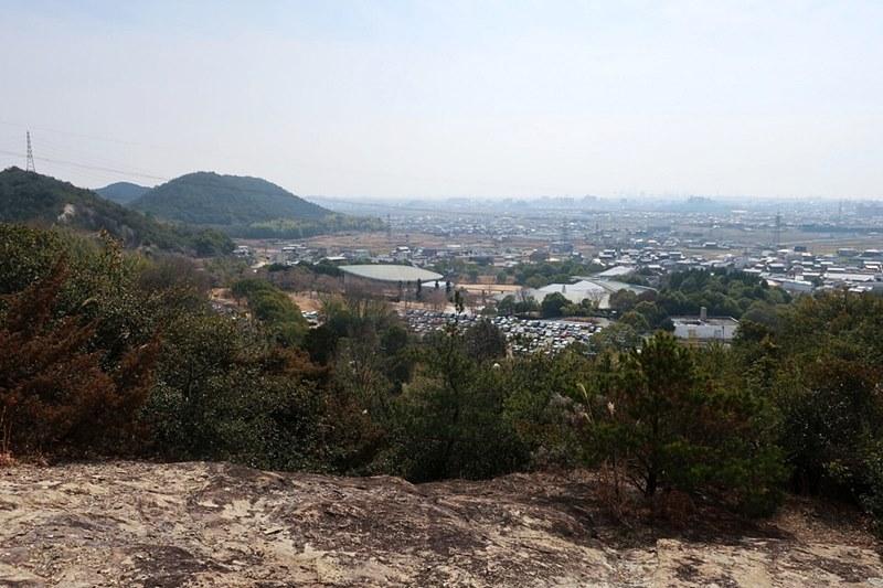 黒岩山から見える加古川の街並み