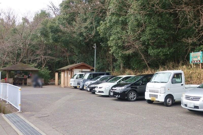 高御位山(たかみくらやま)の駐車場