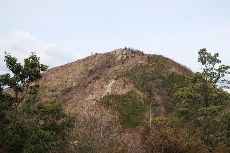 小高御位山から見える高御位山