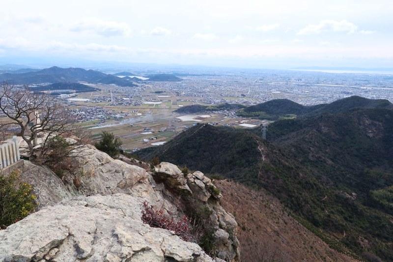高御位山から見える風景(南東)