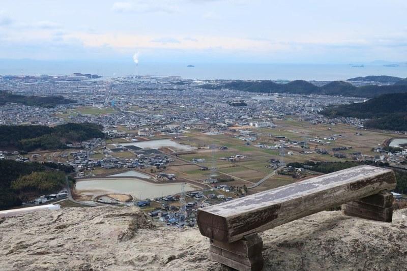 高御位山から見える播磨灘