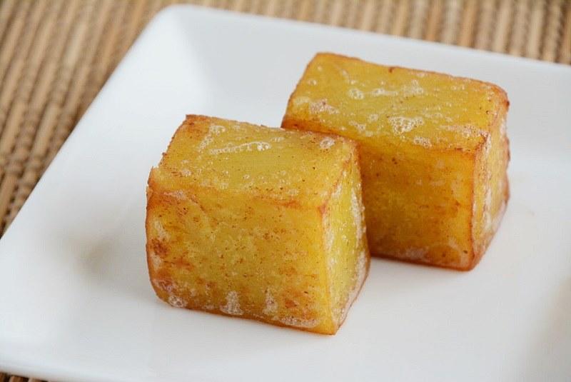 バター焼きにした舟和芋ようかん