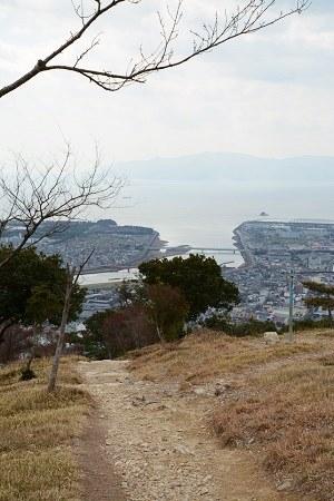 雄鷹台山の頂上からの眺め