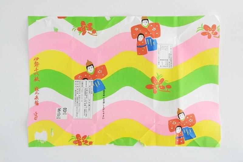 朔日餅(3月)よもぎ餅の包装紙