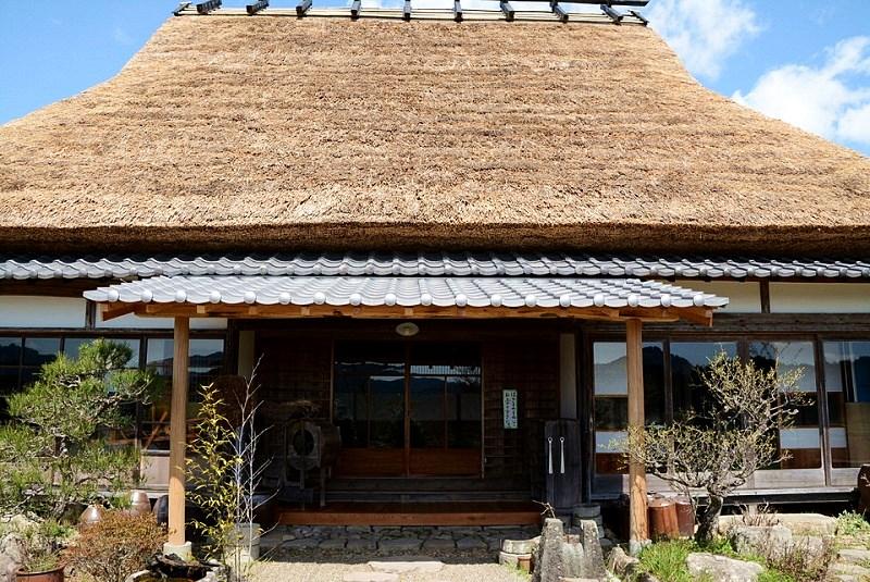丹波篠山「一会庵」の正面入口