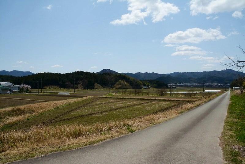 丹波篠山「一会庵」の周辺の風景